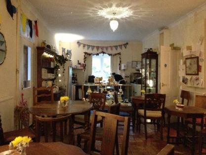 Pettigrew Tea Room inside
